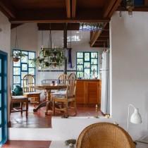 Küche der Regenwald-Lodge Los Alpes