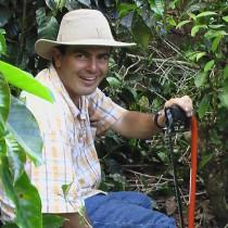 Rafael ist Verwalter von Los Alpes und die Seele des Projektes